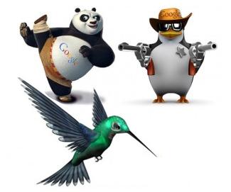 google-panda-penguin-hummingbird
